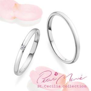 鍛造の結婚指輪プチマリエ PM55 PM56