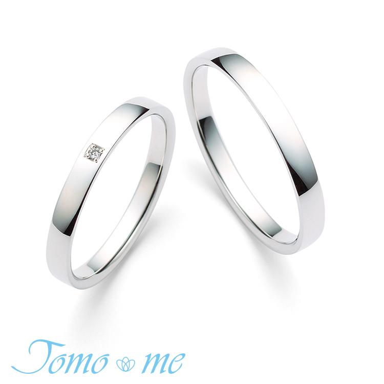 鍛造の結婚指輪トモミ あおぞら