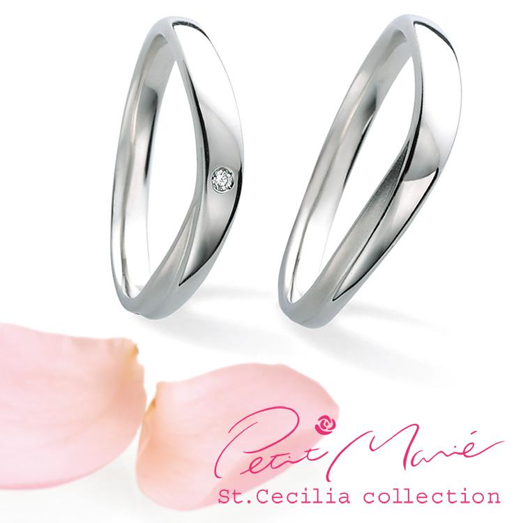 鍛造の結婚指輪プチマリエ PM51 PM52