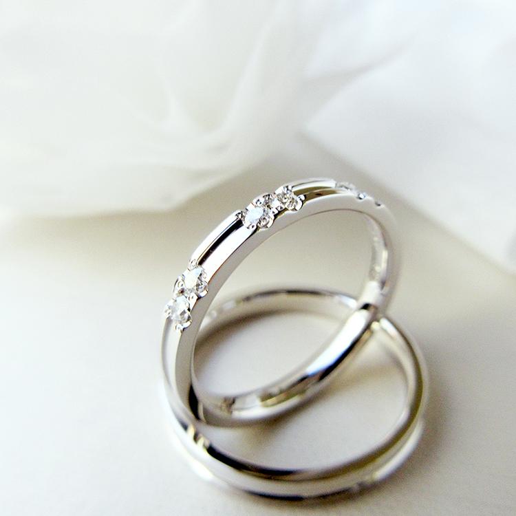 鍛造の結婚指輪かたむの淙々,ステーションタイプ