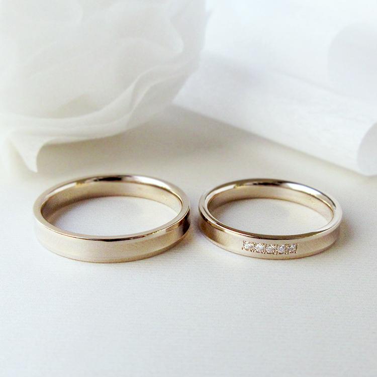 鍛造の結婚指輪かたむの長閑
