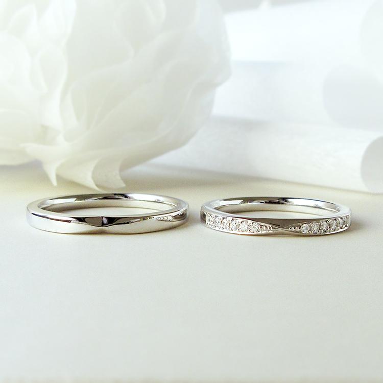 鍛造の結婚指輪かたむの千幸